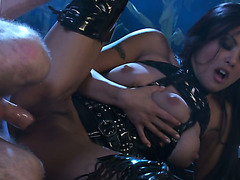 Agent K gets laid with hot three tittied alien Kaylani Lei on corn field