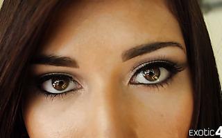 Sensual butt love making with enamoring Latina angel Kimberly Costa