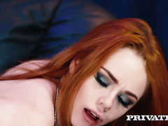 Ella Hughes gets her hairy muff fucked and eaten out like never before