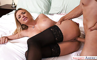 Classy German MILF Briana Banks gets banged by her new lover