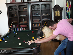 Cock starving stepmommy Laura Bentley gets funky with shy stepson