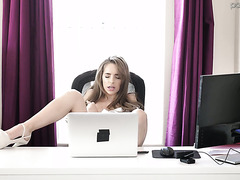 Secretary Kimmy Granger turns out to be a nymphomaniac