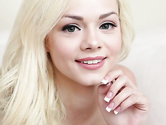 Petite white beauty Elsa Jean tames black beast and his BBC
