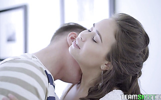 Enamoring Jenny Fer gets bot of her Russian holes fucked gently