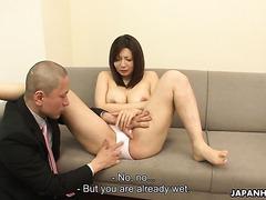 Sayuri Mikami, voluptuous Jap MILF, is fucked properly