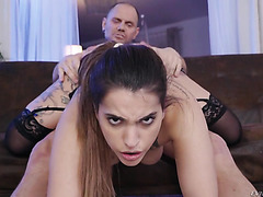 Thick Spaniard Kiara Bala is skillfully fucked by Nacho