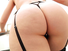 Kagney Lynn Carter invites BBC in her big white ass