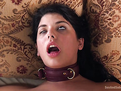 Young Gina Valentina and mature Savannah Fyre receive punishment