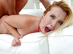 Samantha Rone gets her PAWGtastic booty fucked to oblivion!