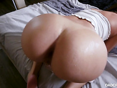 Tiffany Watson, big ass stepdaughter, wanna stepdad do her doggy - POV