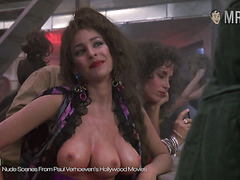 Famous tits from movies. Compilation with famous celebrity boobs