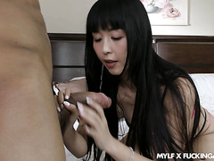 Marica Hase gets her mature JAP pussy stuffed with BBC from Tinder
