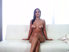 Newbie Karter Foxx fucking like a whore at a porn casting