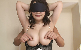 Fluffy Jap chubster Hinata Komine gets toyed and buzzed