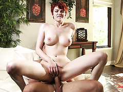 Romantic dude fucks his passionate redhead girl Bree Daniels